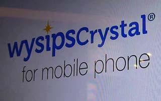 Zelfopladende LiFi smartphone door Wysips Connect